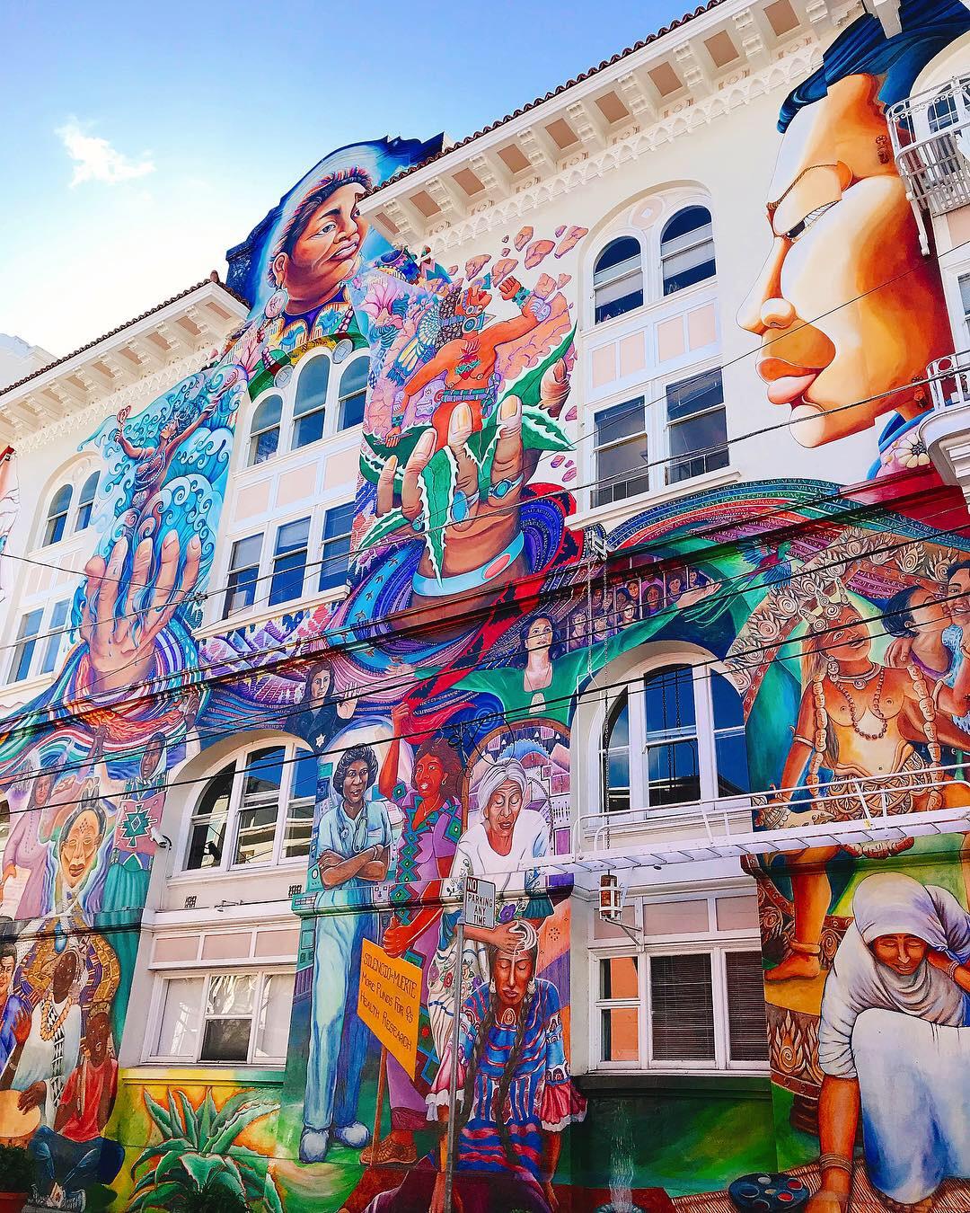 Women's Building, Mission District, San Francisco.