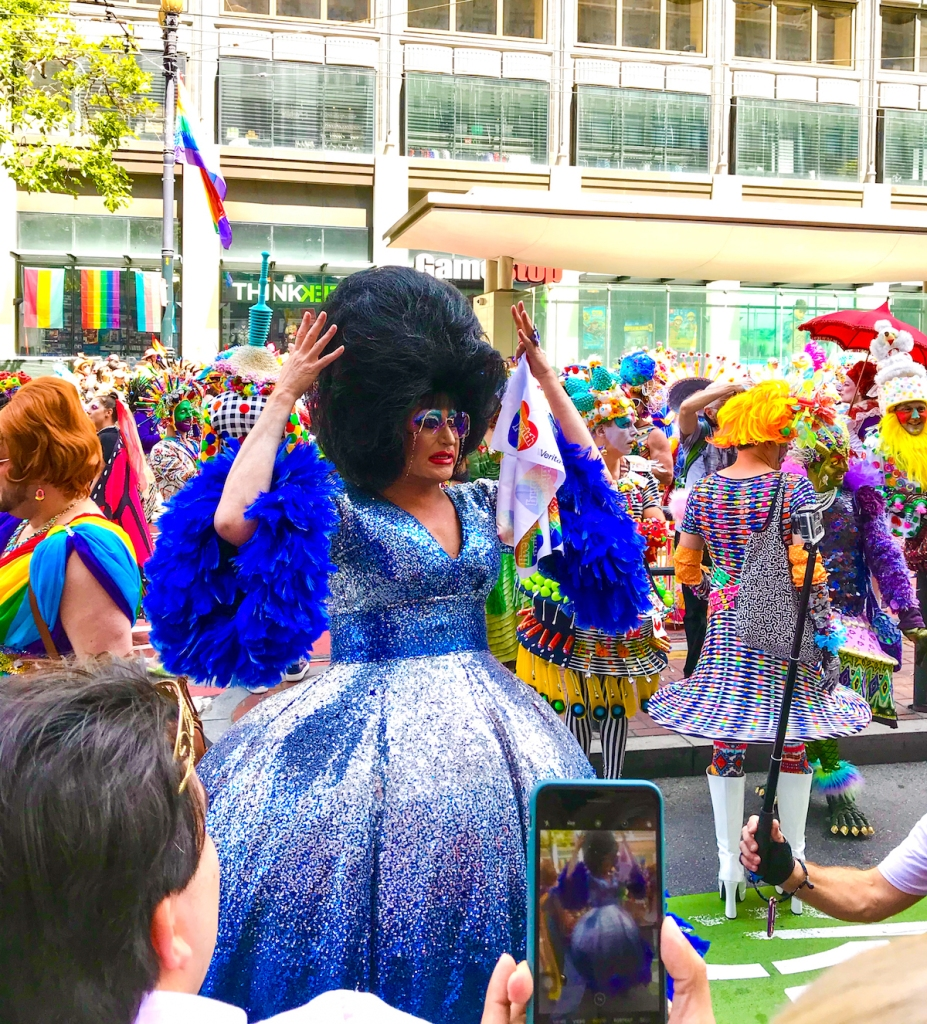Costumes at San Francisco Pride 2019