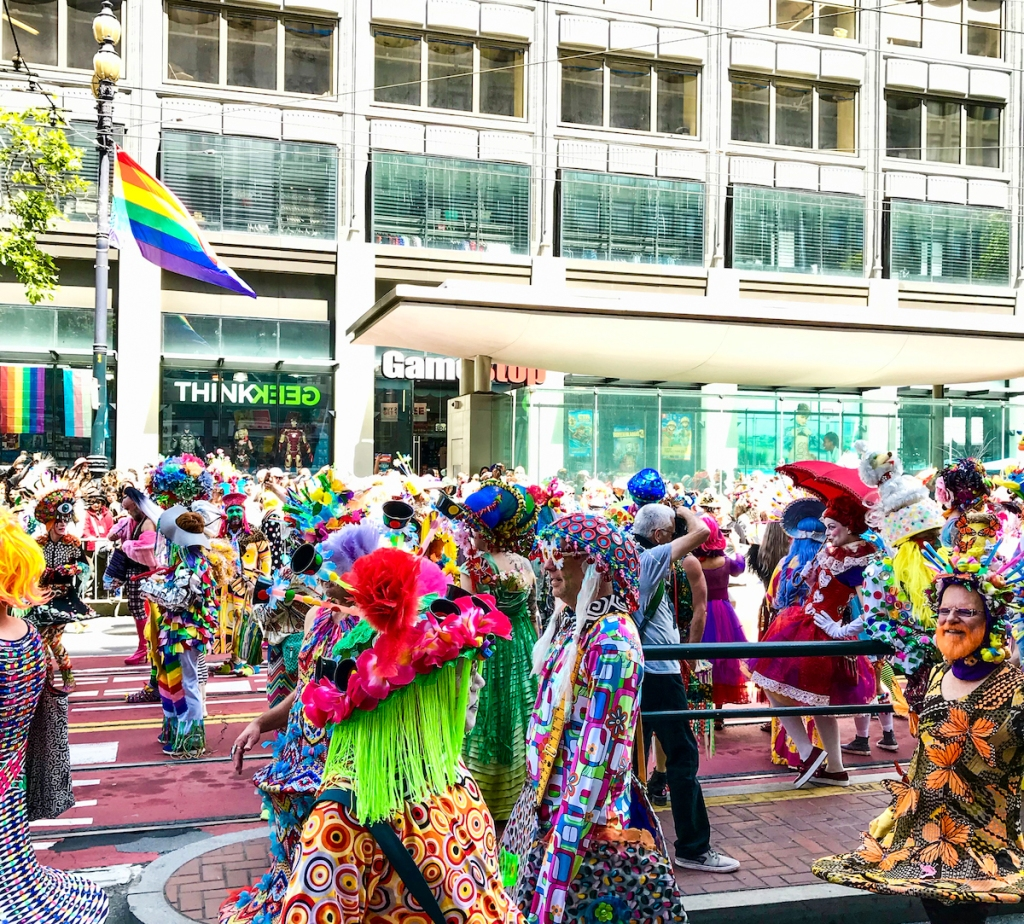 SF Pride at Market Street