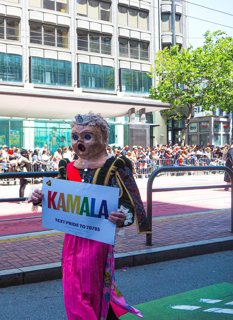 Kamala Harris San Francisco Pride Parade 2019