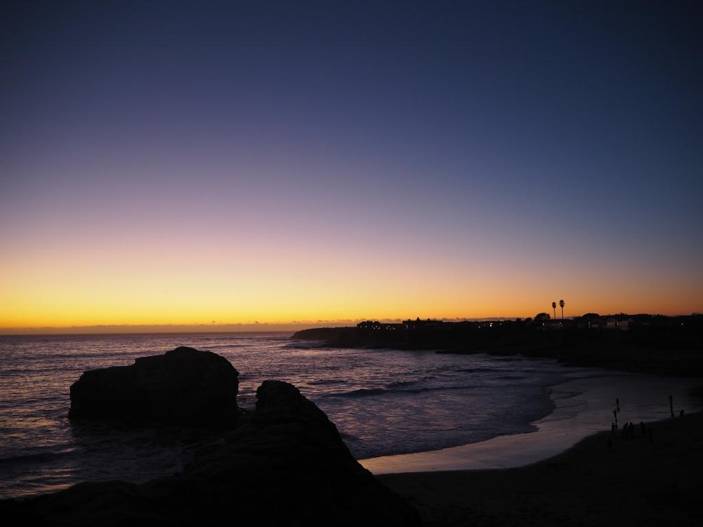 Auringonlasku Santa Cruzissa