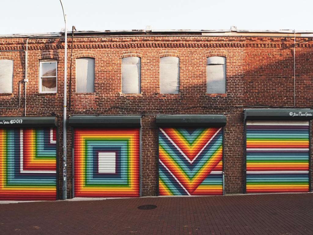 Blagden Alley seinämaalaukset