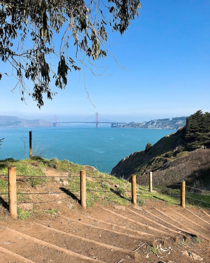 Lands End Trail: San Franciscon upeimmat maisemat avautuvattäältä