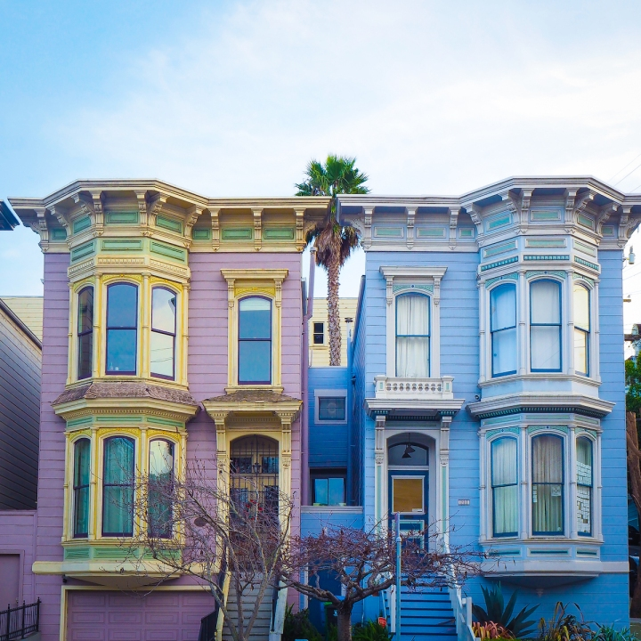 Spectacular Victorian Houses of San Francisco