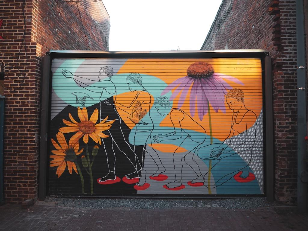 Washington DC seinämaalaukset