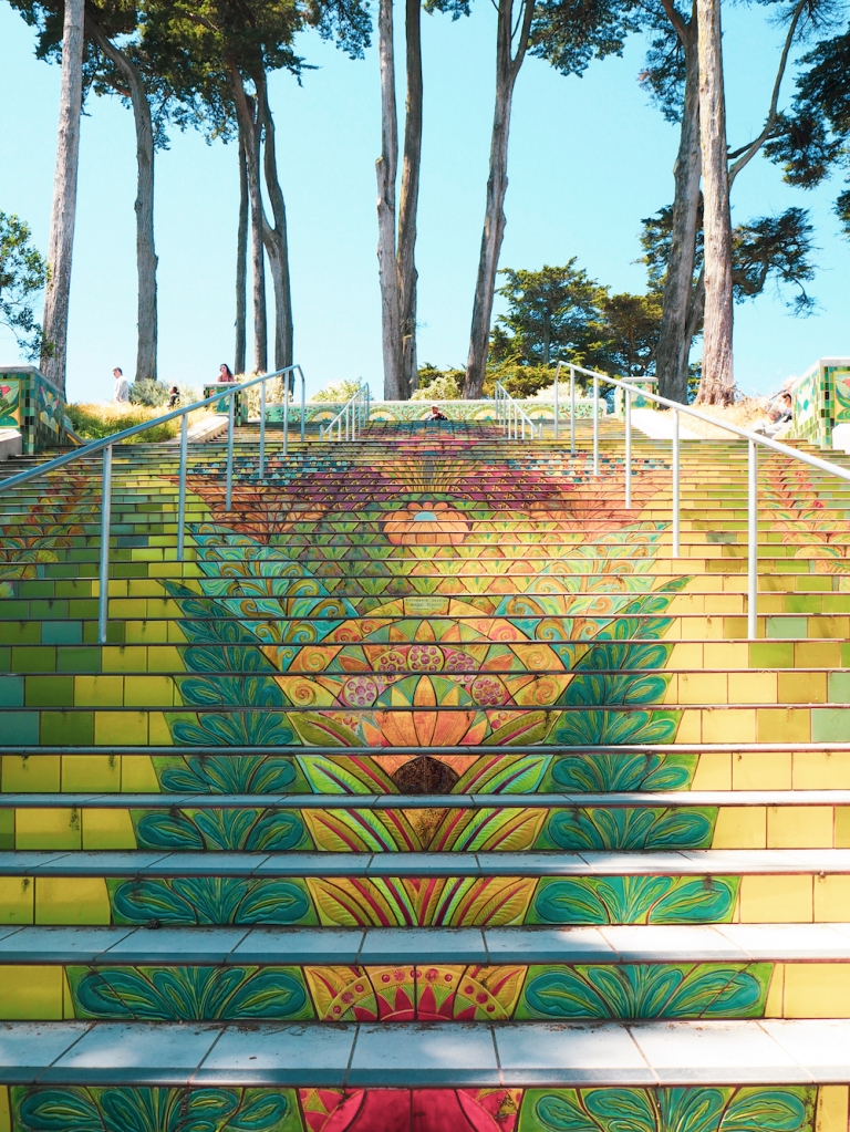 Lincoln Park Steps San Francisco