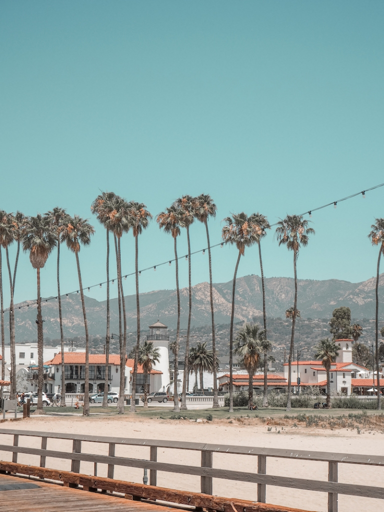 West Beach Santa Barbara Wharf