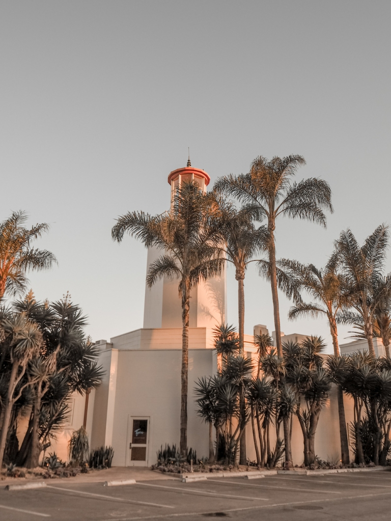 Lighthouse at Butterfly Beach