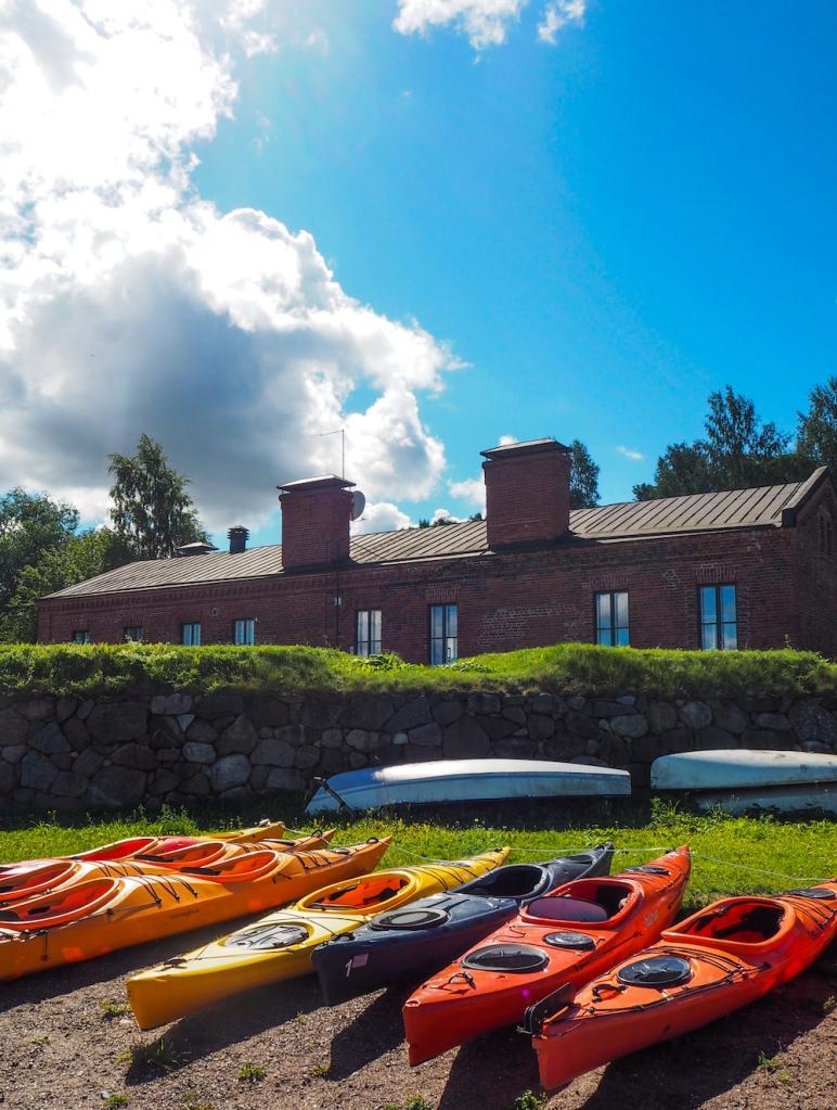 Kayak and canoe renting in Lappeenranta