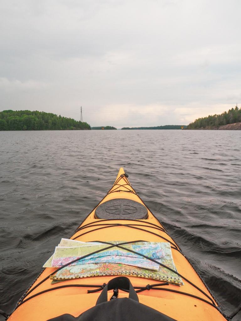 Karhusaari by kayak